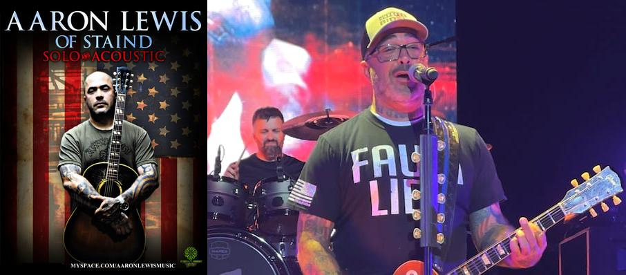 Aaron Lewis at Midland Center For The Arts