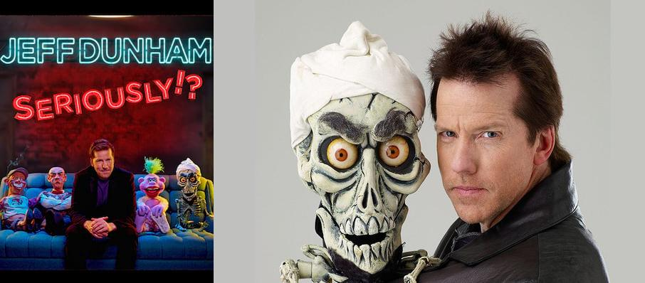 Jeff Dunham at Heritage Theatre